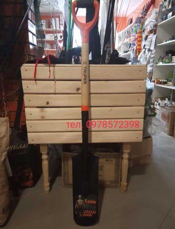 Новая дренажная лопата TRUPER 1.12 м
