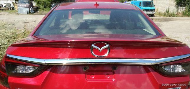 Лип спойлер Mazda 6. 2014г.