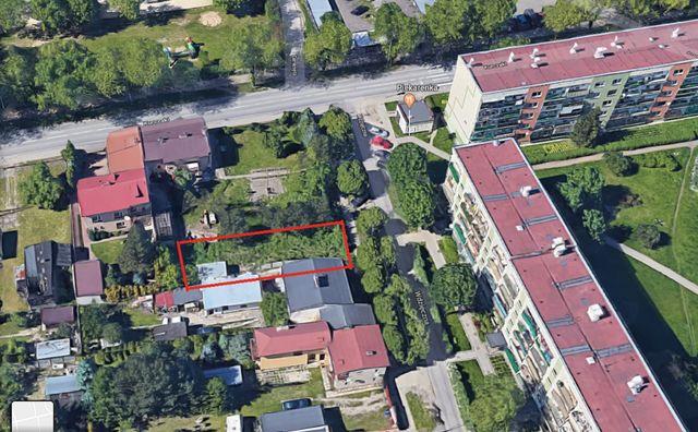 Działka budowlana inwestycyjna Łódź Górna Chojny (WZ) Apartament 320m2