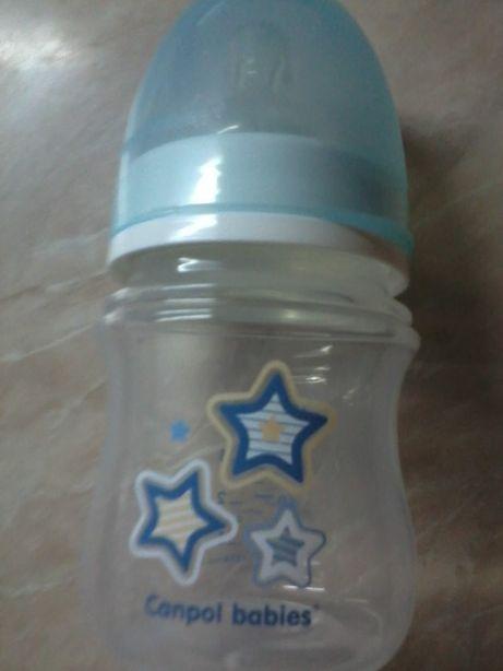 Бутылочка для кормления Canpol babies 120 мл,пляшечка для годування