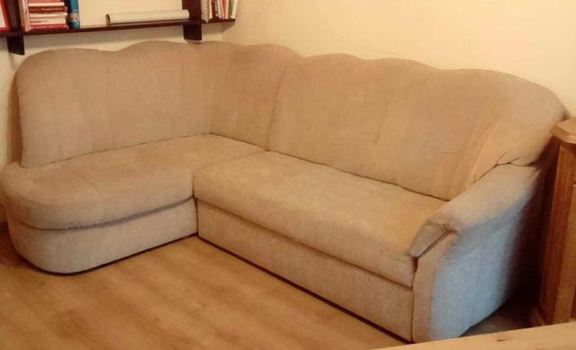 Sofa kanapa rogowka z funkcja spania