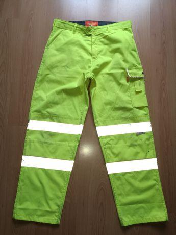Spodnie SEEN WORKWEAR roz.36 , roz.L , odblaski