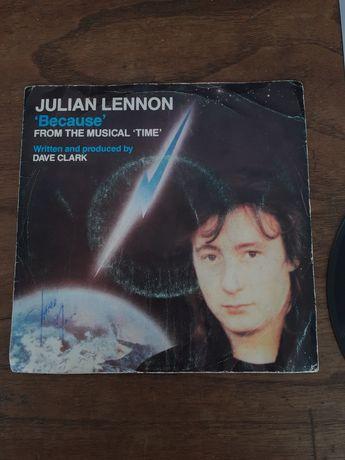 Disco de Vinil single Julian Lennon, ótimas condições