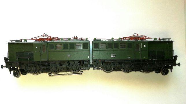 Kolejka Lokomotywa E95-02 Brawa H0