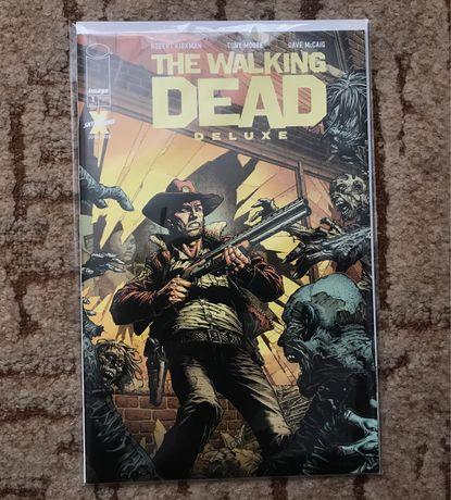 "Комикс ""The Walking Dead Deluxe #1"" (Ходячие мертвецы)"