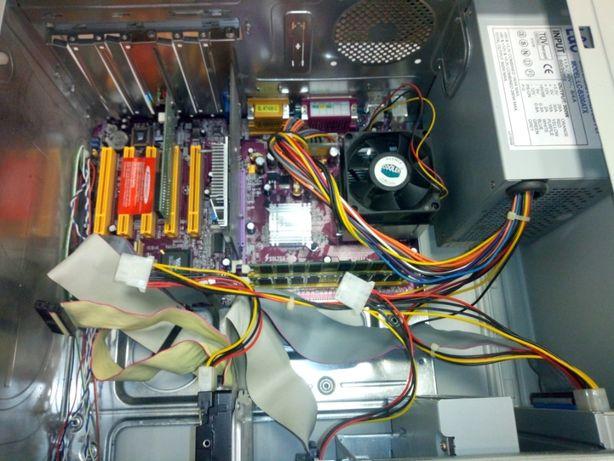Системный блок на базе Soltek SL KT400, AMD Duron 1400 MHz