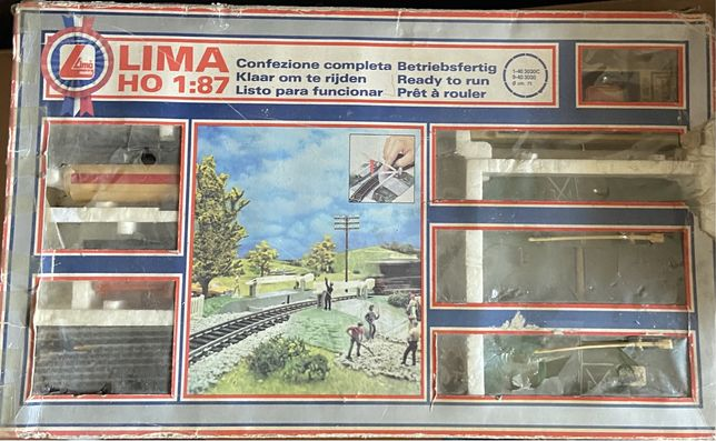 Comboio eletrico LIMA