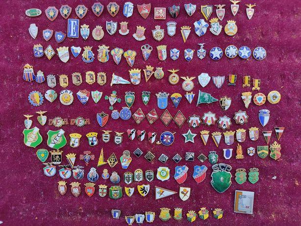 pins /emblemas clubes futebol de Portugal LOTES 1, 2, 3, 6