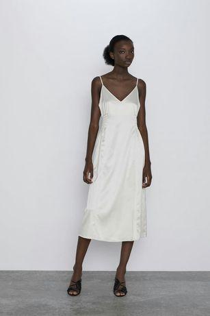 Sukienka z gumką w pasie M