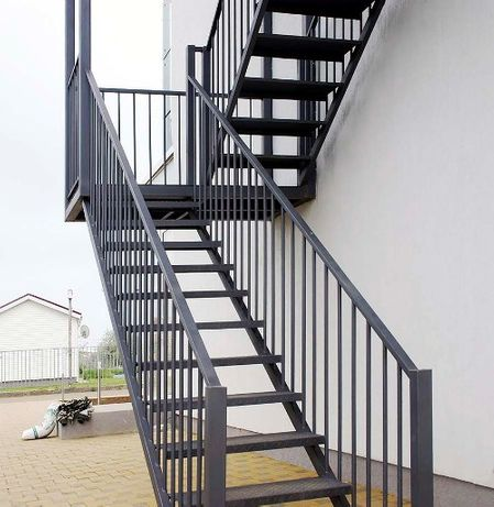 Изготовление лестниц на заказ. Перила, балконы. Металлокаркасы лофт.