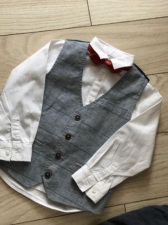 Рубашка белая Некст
