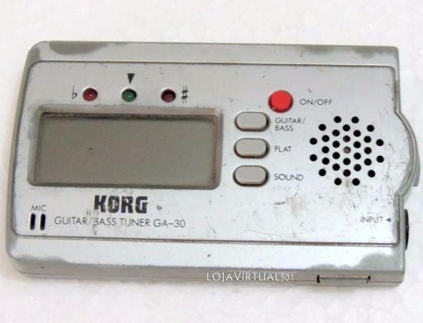 Afinador de guitarra/baixo Korg GA-30