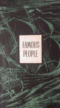 Книга для чтения на английском языке.Famous People.Рассказы о замечат.