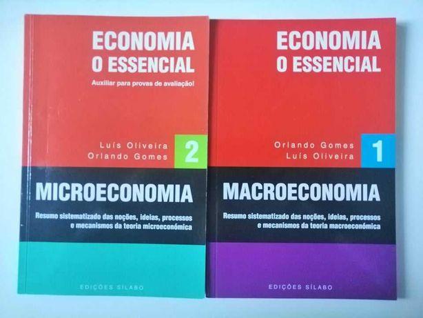Microeconomia - O Essencial e Macroeconomia - O Essencial