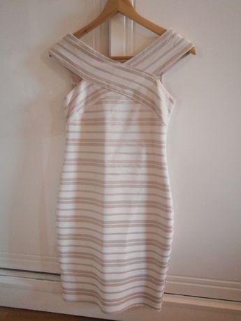 Bandażowa - obcisła suknia Made in Italy 36/38 !