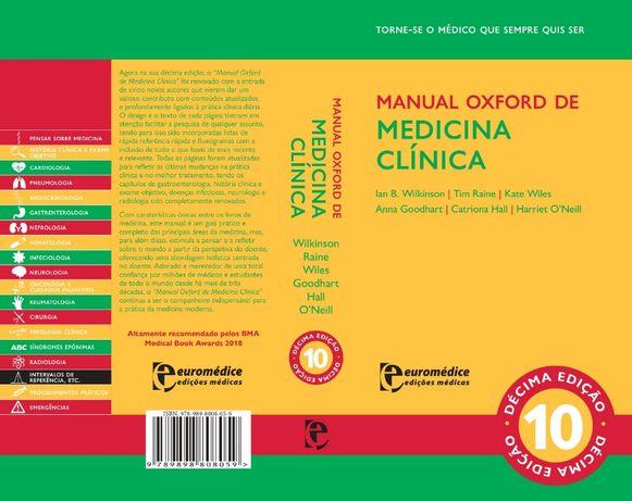 Manual Oxford Medicina Clinica 10ª Edição em Portugues
