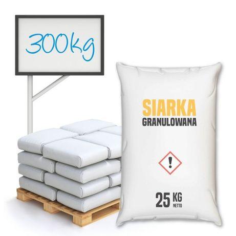 Siarka granulowana – 300 – 1000 kg – Wysyłka kurierem