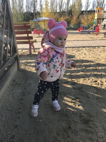 Курточка zara kids 6-9 месяцев