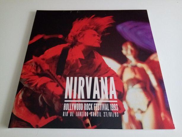 Disco Vinil 2LP Nirvana – Live Hollywood Rock Festival 1993