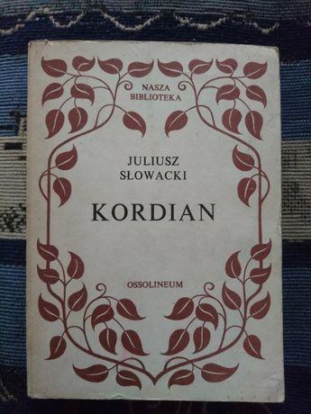 Książka Kordian Juliusz Słowacki