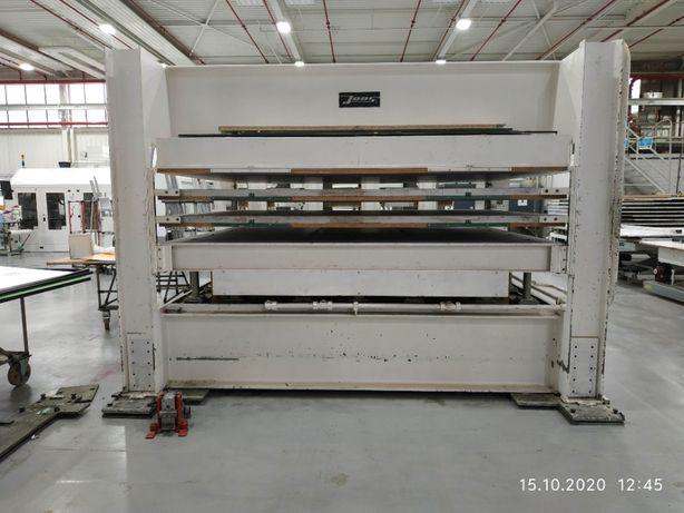 Prasa hydrauliczna 3000mmx2300mm do fornirowania Prasa półkowa JOOS