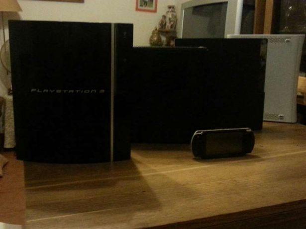 Reparação de consolas ps4/ps3/xbox360/xbox one/wii/psp