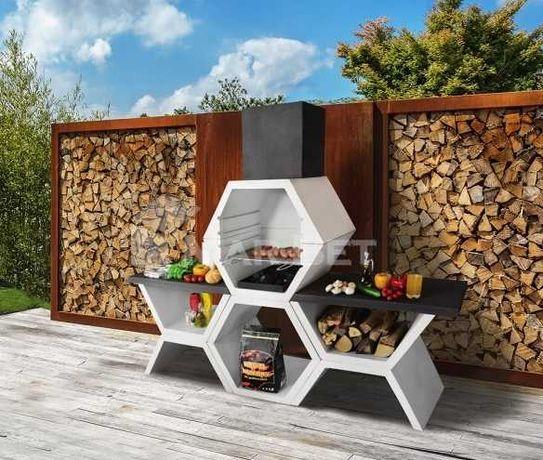 Grill ogrodowy nr 12 betonowy malowany (dostawa gratis cały kraj)