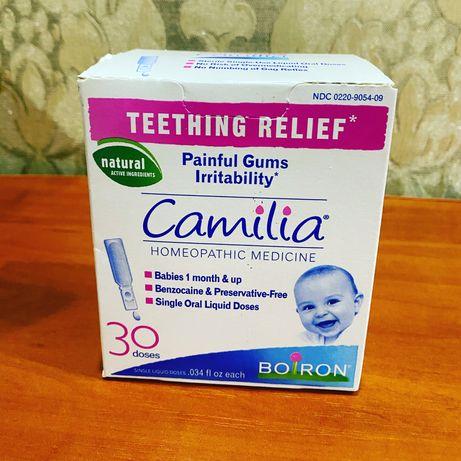 Camilia   Допомога малюкам при болісному прорізуванні зубів.