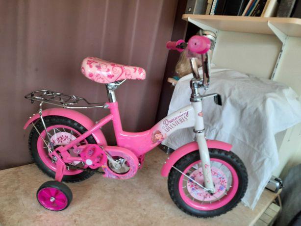 Детский велосипед для принцессы