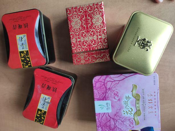 5 opakowań po herbacie