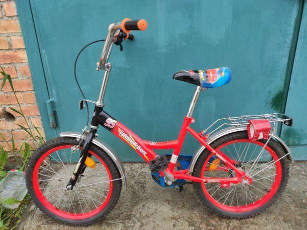 Велосипед детский на возраст 3 - 8 лет