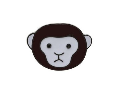 PIN WPINKA przypinka znaczek małpka