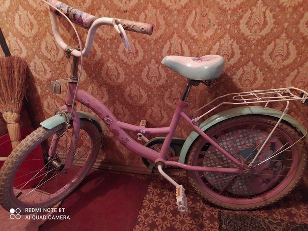 Велосипед на 20 для девочки