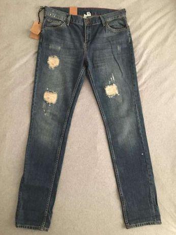 nowe spodnie jeansy Mango 40