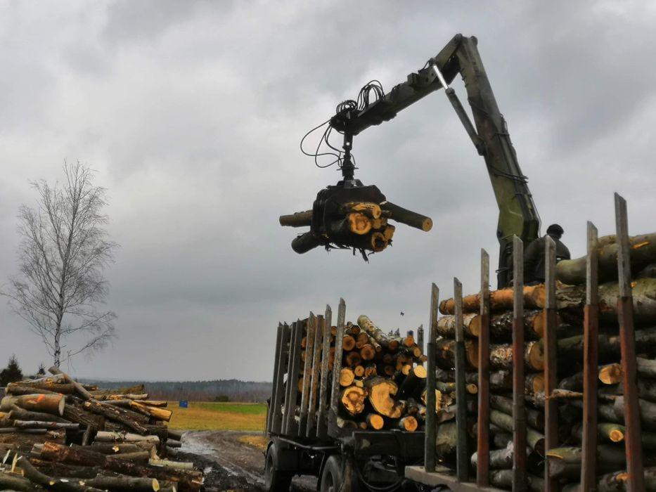 Dąb Buk Drewno kominkowe opałowe ( TRANSPORT GRATIS!)