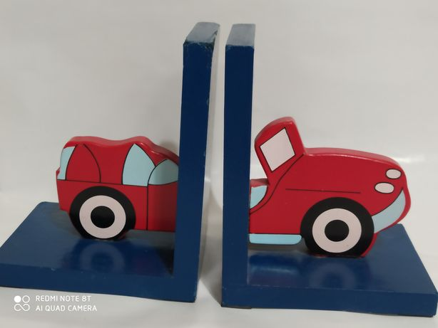 Sprzedam podpórki na książki auto samochód drewniane