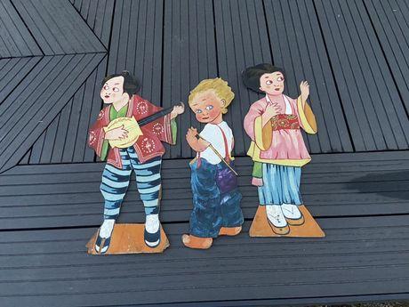 Drewniane postacie - Antyk