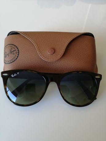 Oculos de sol Rayban Wayfarer II Classic RB 2185 polarized