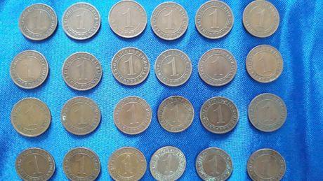 MONETY Niemcy 1 Reichspfenning Sztuk 24