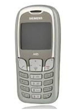 Siemens A65 telefon na części dotyk obudowa ładowarka bateria klapka