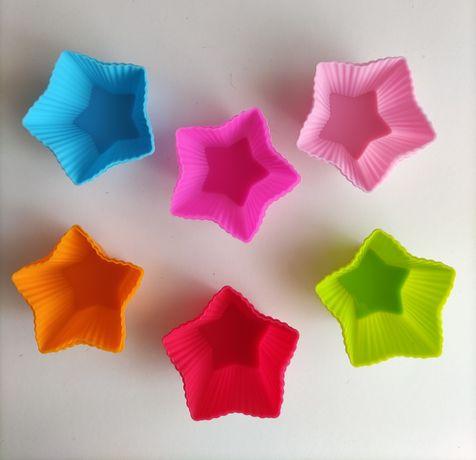 Forma silicone estrela ou redonda