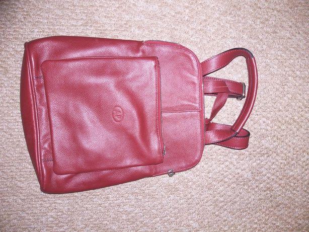 продаю кожаный рюкзак