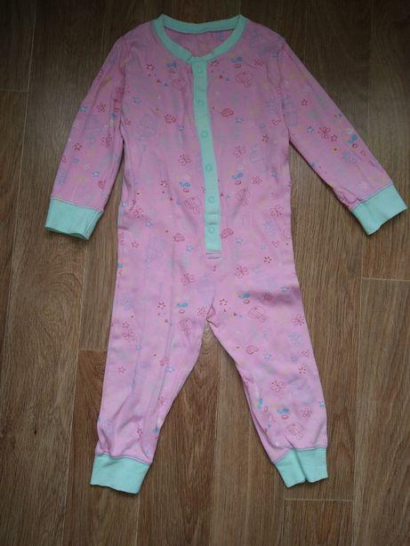 Слип пижама человечек 2-3 года