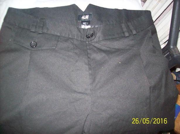 H&M Spodnie damskie rybaczki pas 82 cm