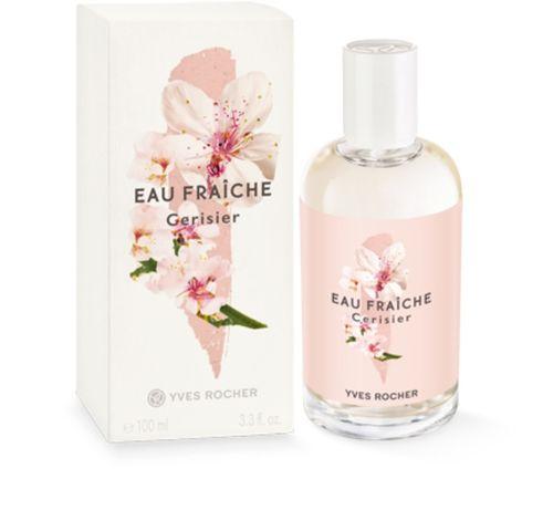 Туалетная вода Eau Fraiche Cerisier вишневый цвет Yves Rocher ив роше