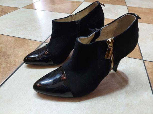 Buty skórzane szpilki RWB rozmiar 38 kupione za 240zł