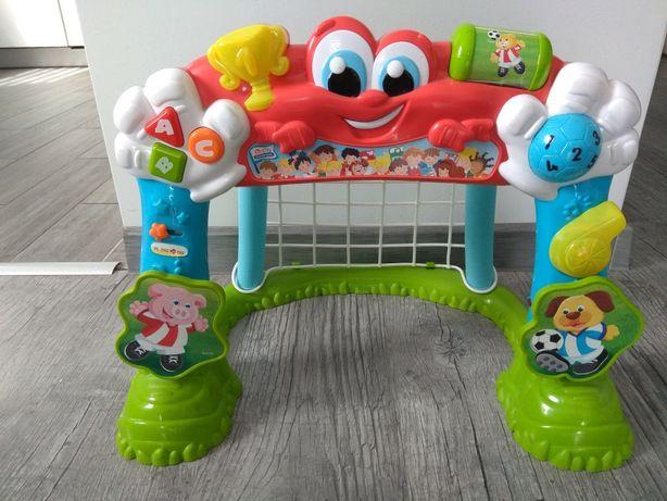 Bramka i interaktywna, grająca Clementoni