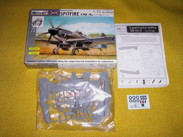 Spitfire Mk.XIVe 1/72 AZ Silver