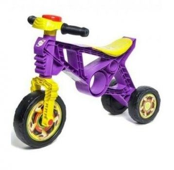 Беговел мотоцикл ореон фиолетовый