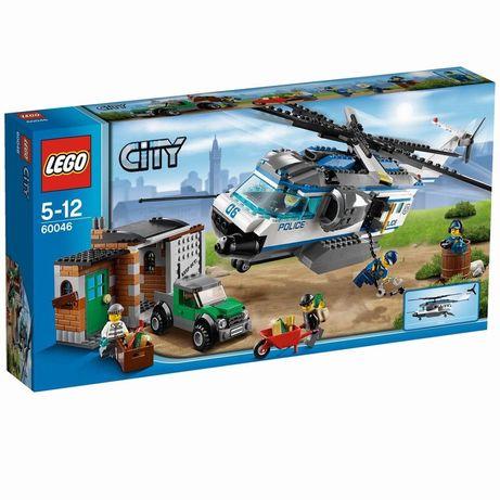 Конструктор LEGO City 60046 новый! Полицейский вертолет
